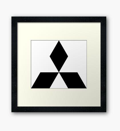 Mitsubishi Framed Print