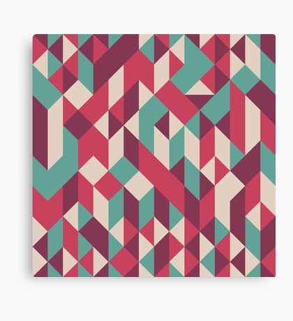 Abstract Geometry 10 Canvas Print