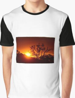 Sunset, Brisbane Australia Graphic T-Shirt