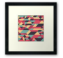 Abstract Geometry 11 Framed Print
