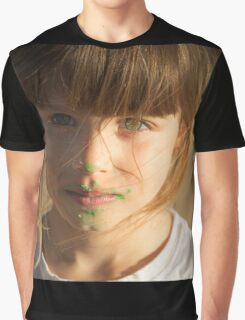Green Frosting Graphic T-Shirt