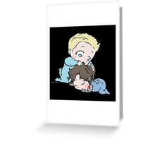 I'll watch over you Greeting Card