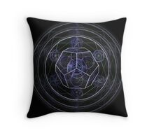 Dodecahedron - 3rd Eye Chakra Throw Pillow