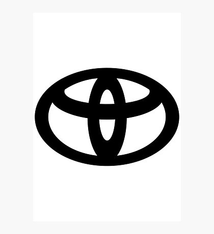 Toyota Photographic Print