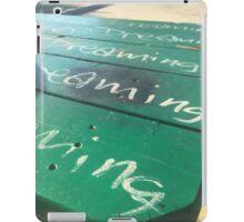 Park Bench iPad Case/Skin