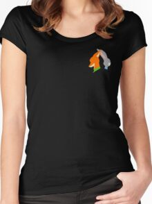 nick and judy Women's Fitted Scoop T-Shirt