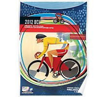 Track Cycling World Championships Poster Poster