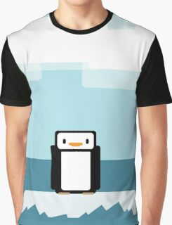 Penguin on Ice Graphic T-Shirt