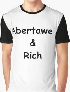 Abertawe & Rich Graphic T-Shirt