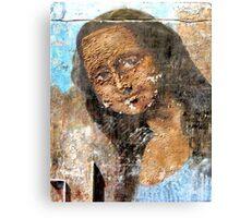 Urban Mona Lisa Canvas Print