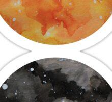 Galaxy spheres 2 Sticker