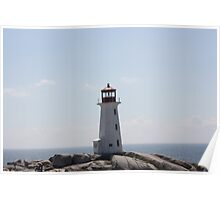 The Lighthouse at Peggy's Cove Poster