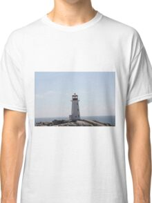 The Lighthouse at Peggy's Cove Classic T-Shirt
