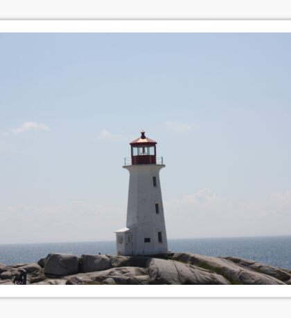 The Lighthouse at Peggy's Cove Sticker