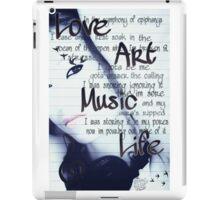 Love Art Music iPad Case/Skin