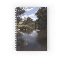 flat rock, o'connell, new south wales, australia Spiral Notebook