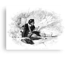 Man With Sword Canvas Print