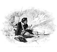 Man With Sword Photographic Print