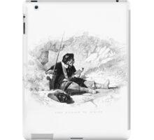 Man With Sword iPad Case/Skin