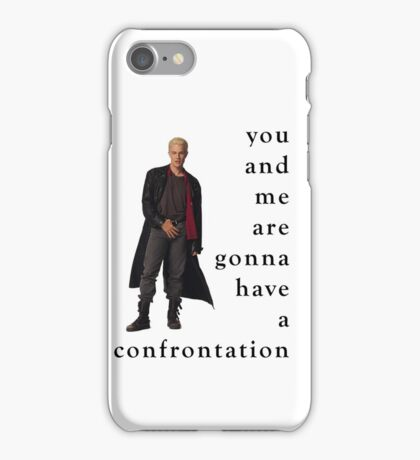 Spike Confrontation iPhone Case/Skin