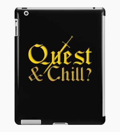 Quest & Chill? iPad Case/Skin