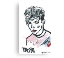 Troye Sivan Portrait  Canvas Print