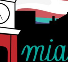 Miami University Skyline Sticker