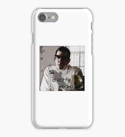 "Dr Oliver Thredson ""I'm Clearly Insane"" iPhone Case/Skin"