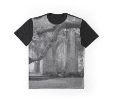 Old Sheldon Church Ruins Graphic T-Shirt