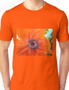 Orange Poppy Unisex T-Shirt