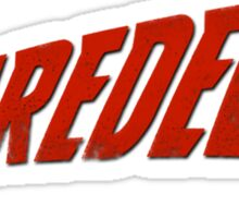 Daredevil Logo Sticker