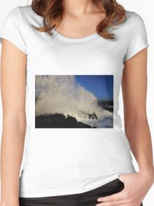 Wild Waves! Women's Fitted Scoop T-Shirt