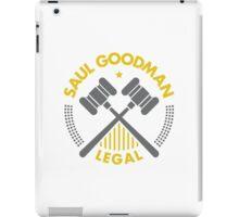 Saul Goodman Legal logo iPad Case/Skin