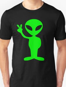peace alien T-Shirt