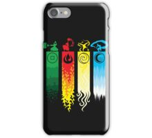 Avatar the Last Airbender - Four Element Kingdoms iPhone Case/Skin