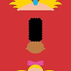 Minimalist Hey Arnold by Adam Grey