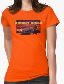 Knight Rider Womens Fitted T-Shirt