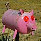 Pink Piggy # 12 by Penny Smith