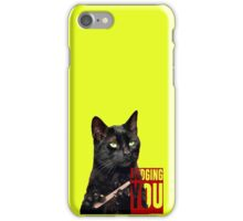 Judging You iPhone Case/Skin