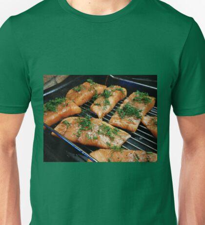 Cuts of Salmon Unisex T-Shirt