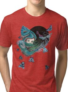 Forest eyes Tri-blend T-Shirt