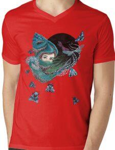 Forest eyes Mens V-Neck T-Shirt