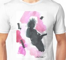 The 1975 Matty Healy Silhouette with Guitar  Unisex T-Shirt