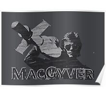 MacGyver Tee Poster