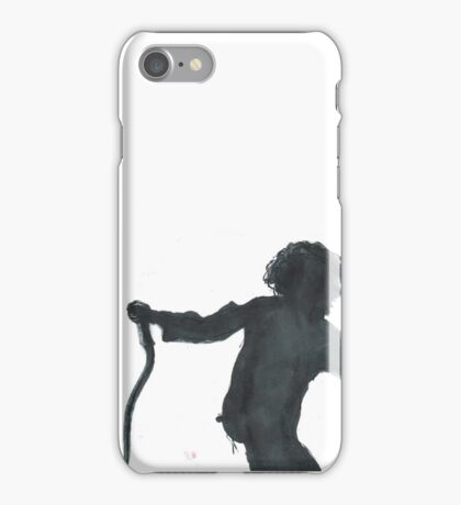 The 1975 Matty Healy Silhouette iPhone Case/Skin