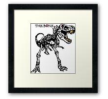 trex bone Framed Print