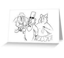 #bearsquad Greeting Card