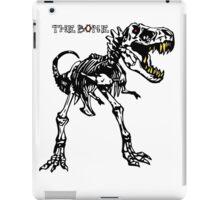 trex bone iPad Case/Skin