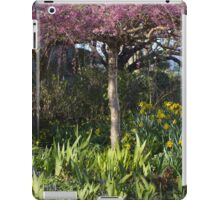 Cherry blossoms and daffodil blooms iPad Case/Skin