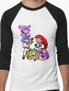 Team Rocket Men's Baseball ¾ T-Shirt